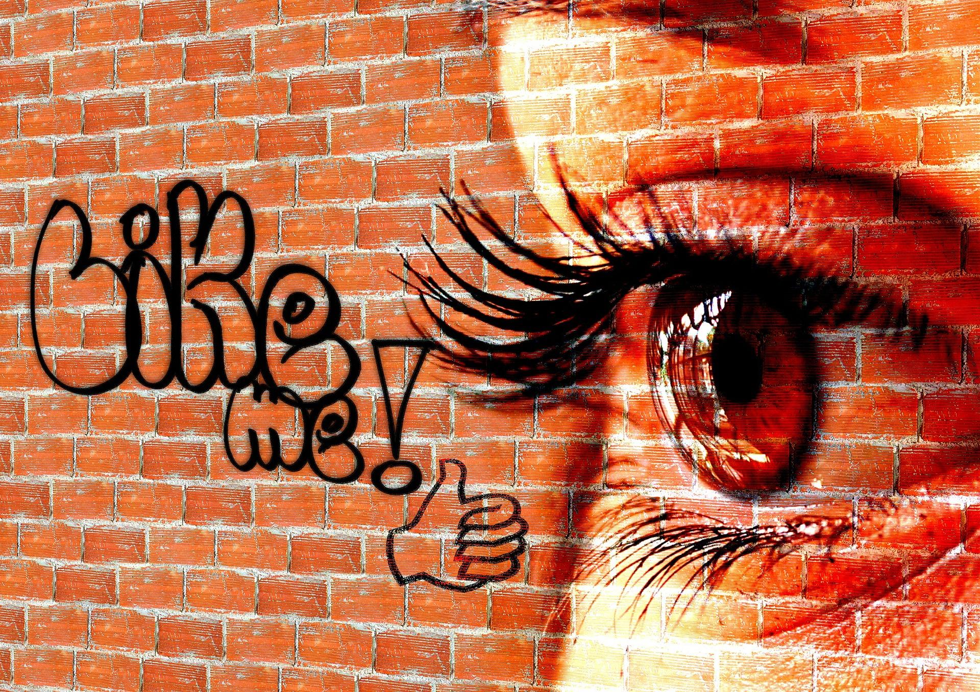Like me, női szem