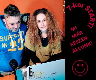 Milák Melinda és Sereglei András színész-drámatrénerek